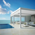 RENSON® Camargue® and Algarve®: Innovative terrace covers with a bladed roof system