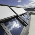 Case Study: Horizontal Topfix VMS canopy by Renson for modular Velux skylight