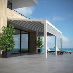RENSON® Toscane®: New terrace covering with folding Roof