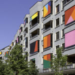 Case Study: student accommodation in Zurich as a moving artwork with external screens