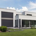 Case study: Large windows in modern villa cry out for external sun protection